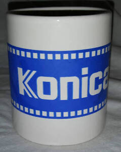 KONICA 35MM FILM THEME COFFEE TEA MUG CAMERA PHOTOGRAPHY PHOTO
