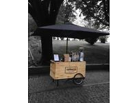 Need a coffee cart building!