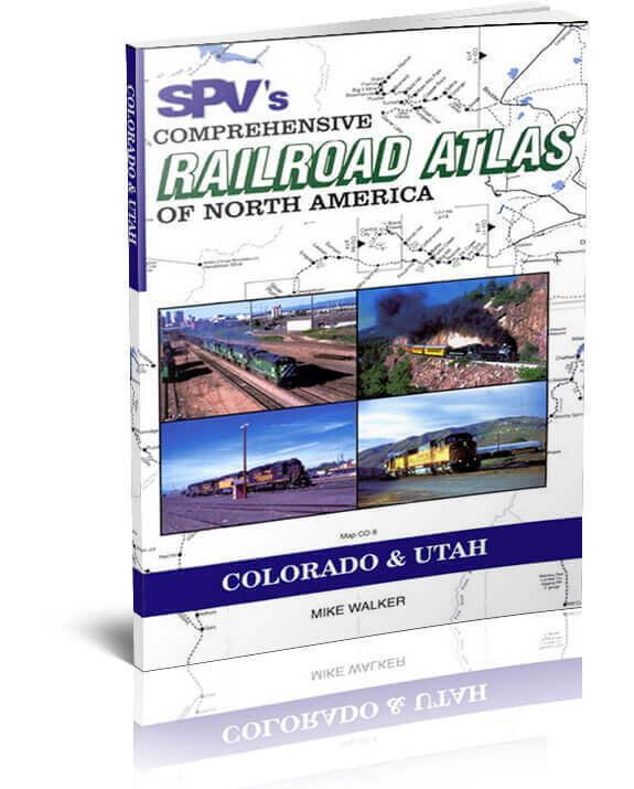 SPV Railroad Atlas Colorado & Utah - New, Latest Edition, Steam Powered Video