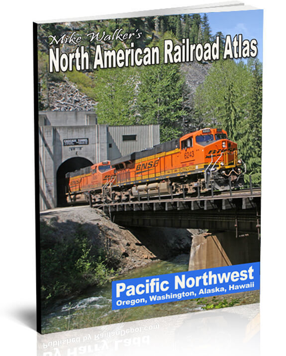 Pacific Northwest Railroad Atlas by Mike Walker - New, Latest Edition (SPV)