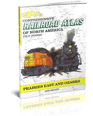 SPV Railroad Atlas Prairies East & Ozarks - Latest Edition, Steam Powered Video