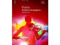 Violin Scales & Arpeggios, ABRSM Grade 6: from 2012