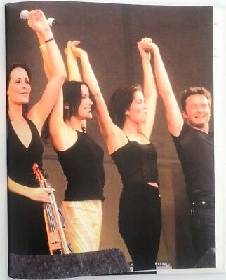 The CORRS 'group encore' magazine PHOTO/Poster/clipping 11x8 inches