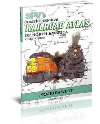 SPV Railroad Atlas Prairies West - New, Latest Edition, Steam Powered Video