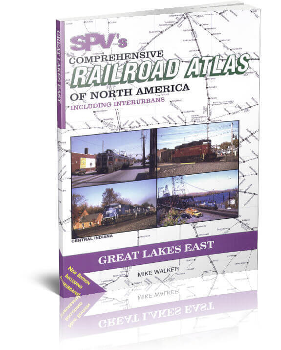 SPV Railroad Atlas Great Lakes East - New, Latest Edition, Steam Powered Video
