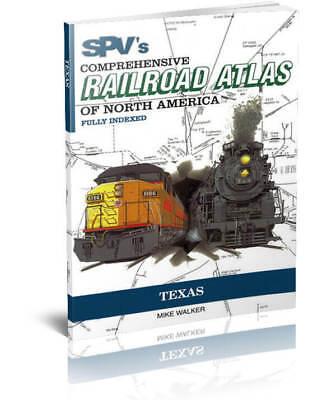 SPV Railroad Atlas Texas - New, Latest Edition, Steam Powered Video
