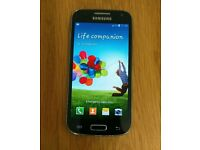 Samsung galaxy s4 mini GT-I9195 with case - excellent condition