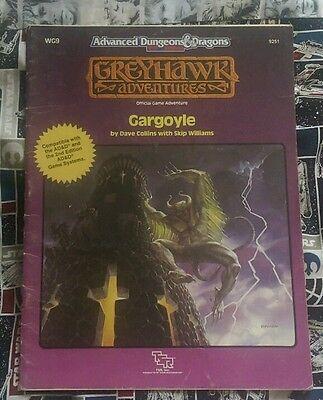 AD&D Greyhawk Adventure - Gargoyle - TSR 9251