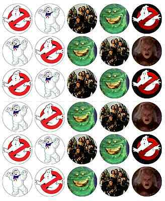 Ghostbusters Cupcake Toppers (Ghost Busters Cupcake Toppers Edible Wafer Paper Buy 2 Get 3rd FREE!)
