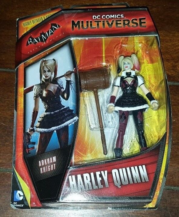 "Dc Comics Harley Quinn Multiverse 4/"" Action Figure Batman Arkham Origins"