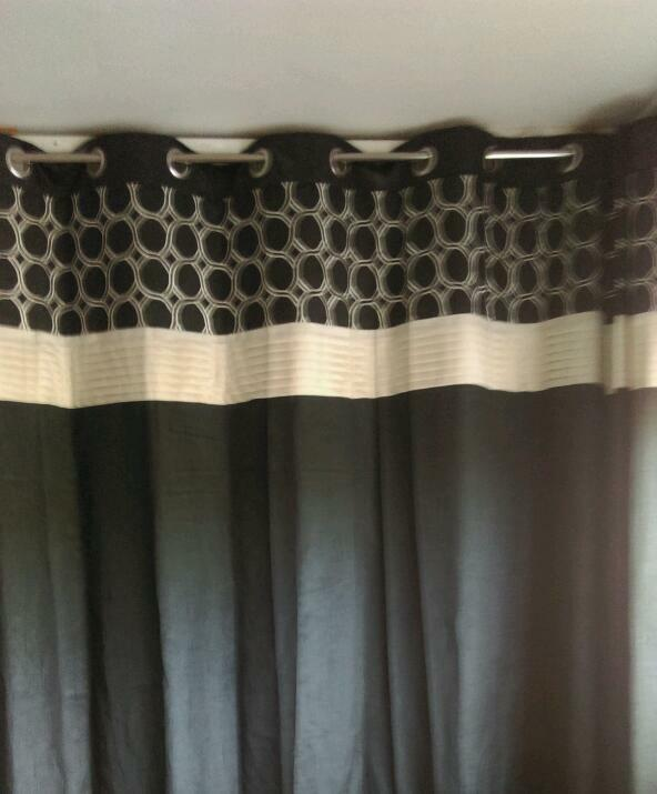 Black curtains 90x90 | in Norwich, Norfolk | Gumtree