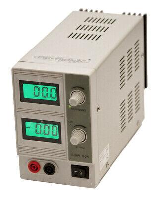 "Labornetzgerät McPower /""LBN-303/"" LC-Anzeige 0-30 V 0-3 A regelbar"