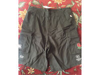 Canterbury England 7's rugby phantom cargo shorts **PLAYER ISSUE**