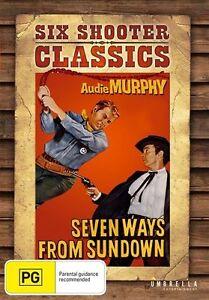 Seven Ways From Sundown DVD BRAND NEW SEALED
