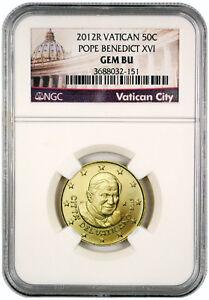 2012-Vatican-City-Pope-Benedict-50-Cents-NGC-GEM-BU-EXCLUSIVE-LABEL-SKU27151