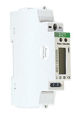MISURATORE DI ENERGIA SINGOLA FASE CONTATORE CORRENTE ELETTRICA MODBUS RS-485
