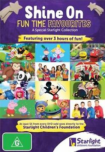 Shine On Fun Time Favourites 2014 DVD R4