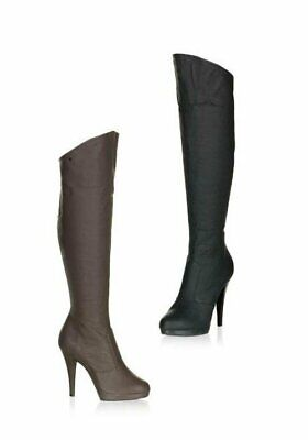 Fabulicious FLAIR-2010 4 1/2 Inch Stiletto Heel Platform Knee Boot