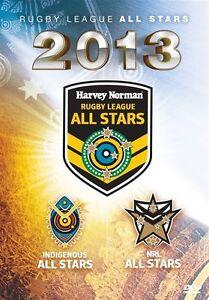 NRL - All Stars 2013 (DVD, 2013) New  Region 4