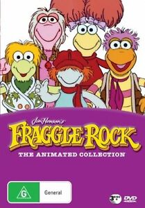 Fraggle Rock  The Animated Collection(DVD,2008 3-Disc Set)REGION 4-Free postage