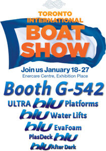See you at the Toronto Boat Show!