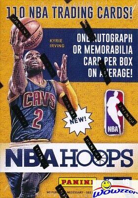 2015/16 Panini Hoops Basketball Factory Sealed Blaster Box-AUTOGRAPH/MEMORABILIA Memorabilia Cards Basketball