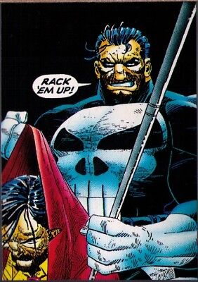 1992 Comic Images The Punisher #83 Cleaning