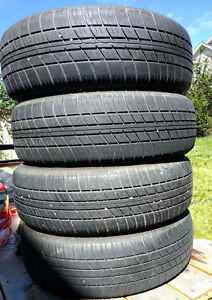 4 Motomaster Touring 195/65/15 used tires from Corolla Edmonton Edmonton Area image 2