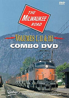 Milwaukee Road Combo DVD Pentrex Rocky Mountain Division Electric Little Joe Cab
