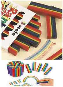 6-PACK-OF-SCOLA-RAINBOW-WAX-POSTER-CRAYONS-MULTI-COLOURED-5-COLOURS-PER-STICK