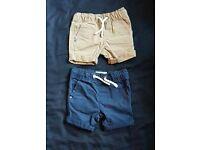Boys shorts and tops