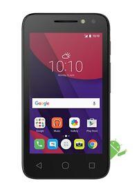 Alcatel Pixi 4 4-Inch Smartphone UNLOCKED MARSHMALLOW 6 Black refurbished android google play