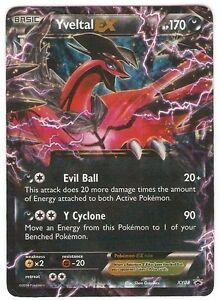 Rare-Holo-Foil-YVELTAL-EX-Promo-XY-08-Pokemon-Card-MINT-Spring-2014-Tin