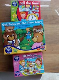4x children's games