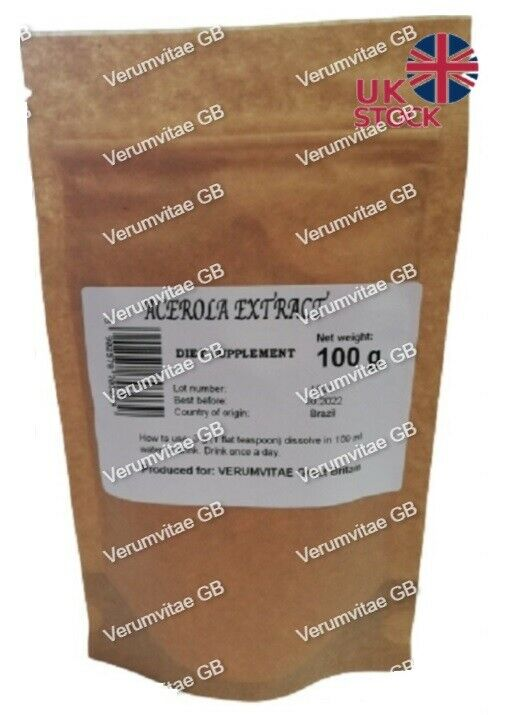 Acerola Cherry Powder Extract 100g/500g High Quality Extract Powder Antioxidant