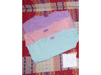 Bundle of 3 Long Sleeve Plain Tops for Girl 3-4 years. In good condition. 100% cotton, F&F..