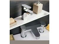 Brand new: Sanctuary Basin Mixer and Bath Filler Tap Pack Bathroom Taps & Mixers