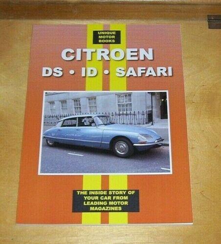 CITROEN+DS+ID+SAFARI+ROAD+TEST+REPRINT+BOOK+UNIQUE+MOTOR+BOOKS+