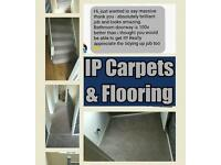 Carpet, laminate, lino flooring fitter and supplied or just fitted professionally