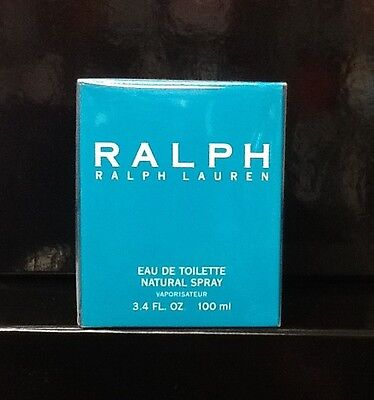 RALPH by Ralph Lauren * Perfume for Women * EDT * 3.4 oz * BRAND NEW IN BOX