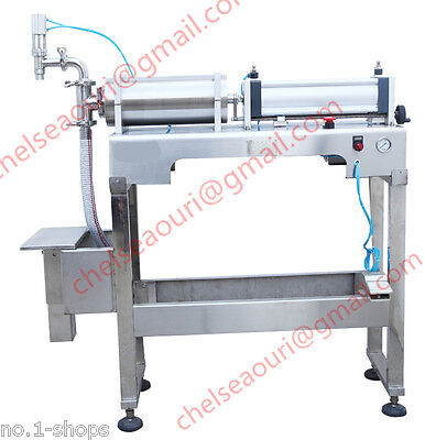 100-1200ml Semi-auto Stand Type Bottle Fillerpneumatic Liquid Filling Machine