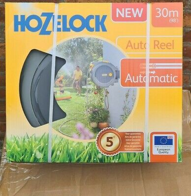 New Hozelock Auto Reel Hose Wall Mounted Auto Rewind 30M Free Delivery