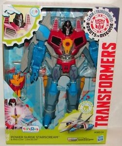 Power Surge Starscream - brand new in box