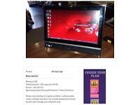 Packard Bell touch screen computer £110 Ono