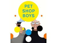 Pet Shop Boys 2 Tickets Stalls 22nd February