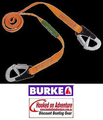 2 x Tether Burke Tether - 2 Hook 2 x Units Included