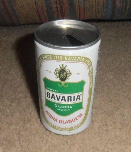 VINTAGE & RARE BAVARIA OLANDA HOLLAND BEER VERY OLD CAN 11 1/2 OZ.