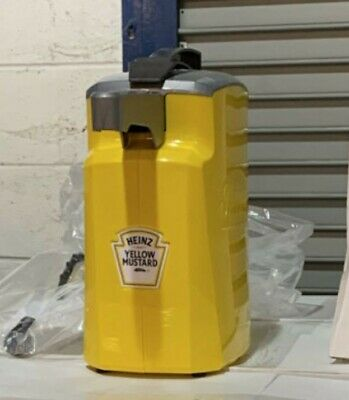 New Heinz Keystone Mustard Pump Station Server Condiment Dispenser 8694