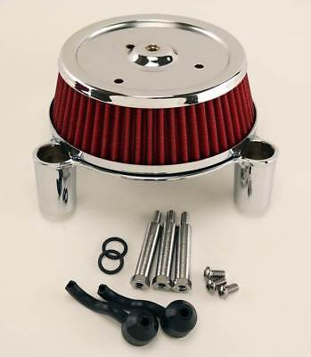 Chrome Air Cleaner Kit/EFI Twin Cam For Softail 01-07,Touring 02-07 & Dyna 04-07