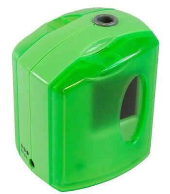 Automático Verde Eléctrico Sacapuntas Batería Pilas Simple Agujero Jakar Nuevo